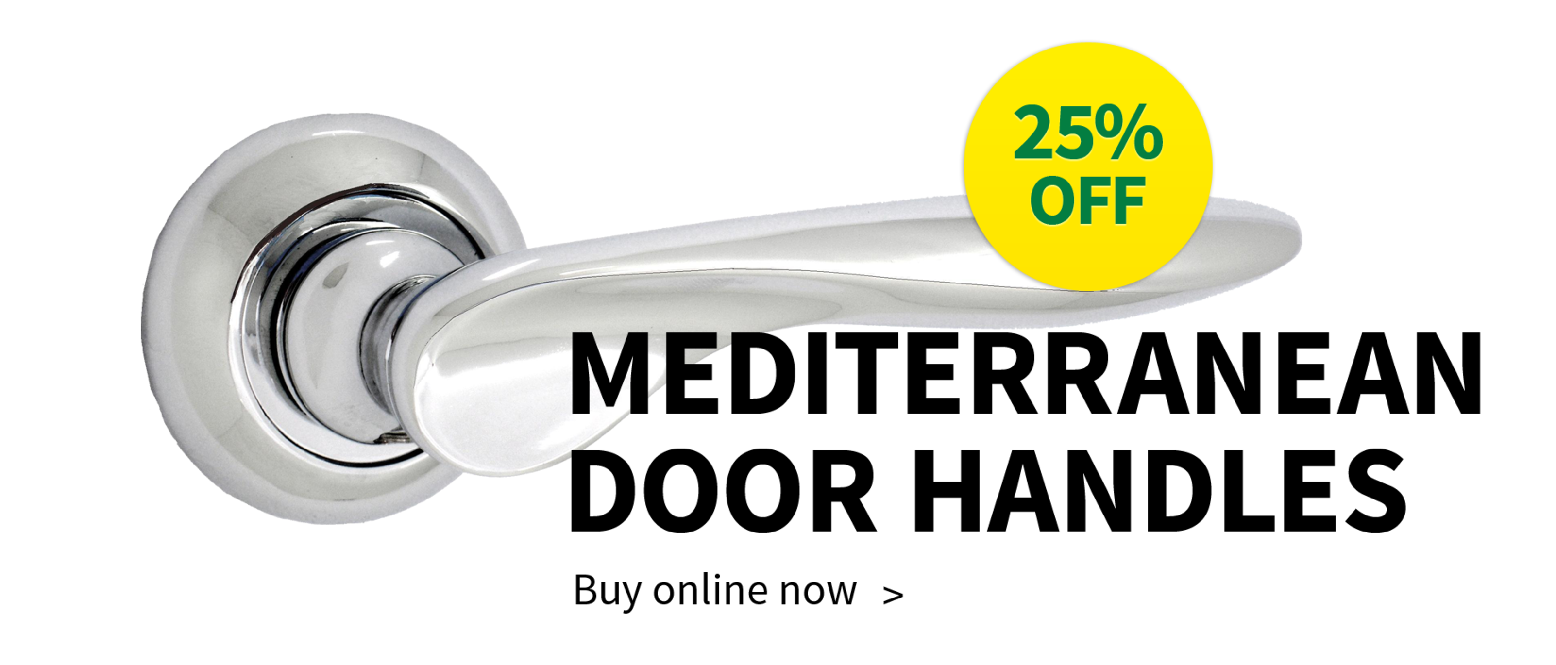 25% OFF Mediterranean Door Handles