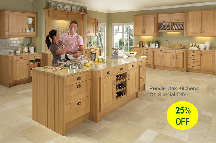 Pendle Oak Kitchen discount