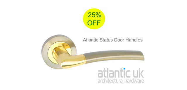 Atlantic UK 'Status' Door Handles: Strong & Stylish