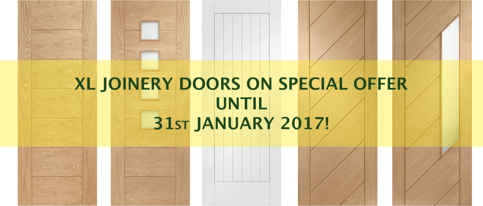 05 XL Joinery Doors - Extended Special Offer