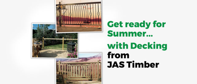 Make the most of the Summer Sunshine with our Timber Decking Special Offer!