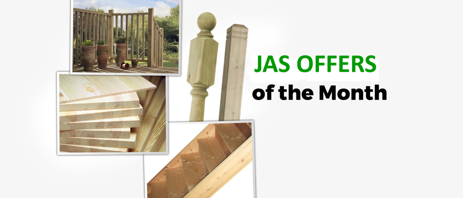 Jas timber merchants timber decking deck newels and for Pre made timber decking