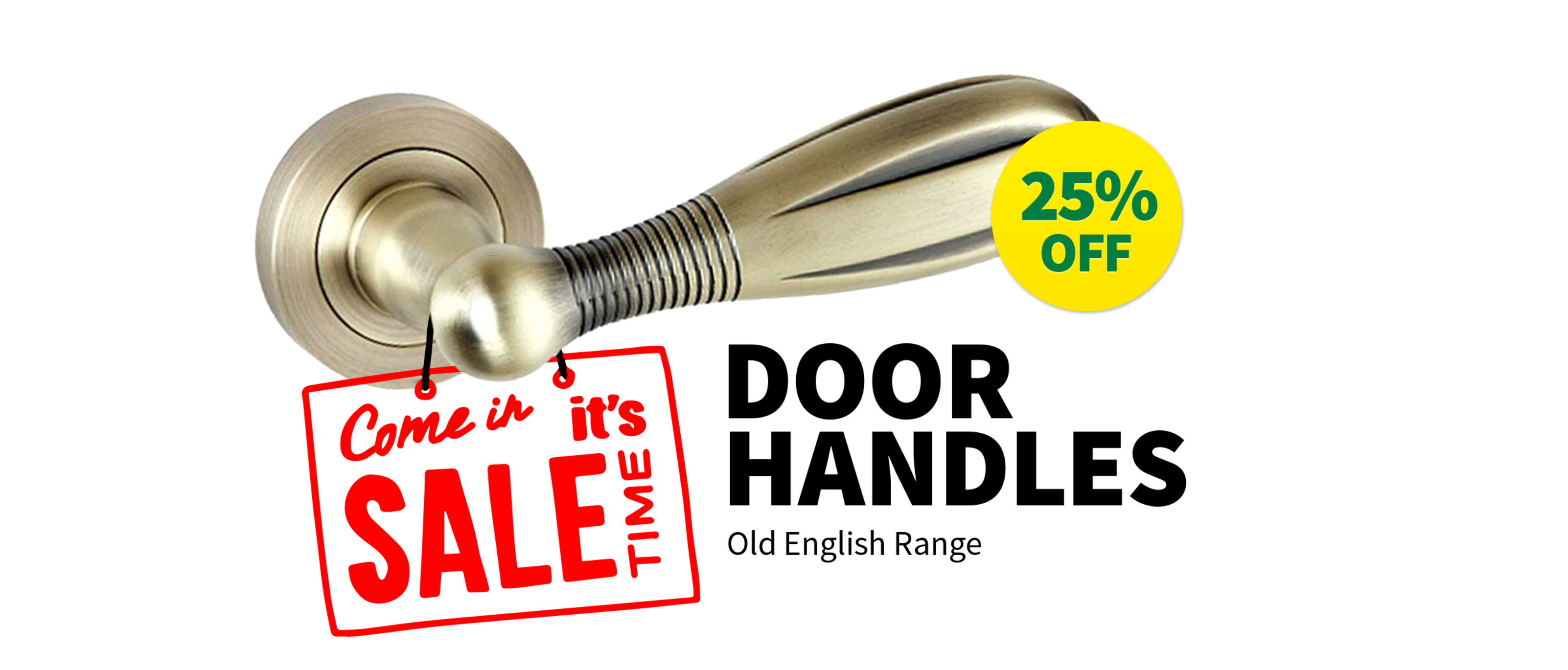 25% OFF Atlantic Old English Door Handles