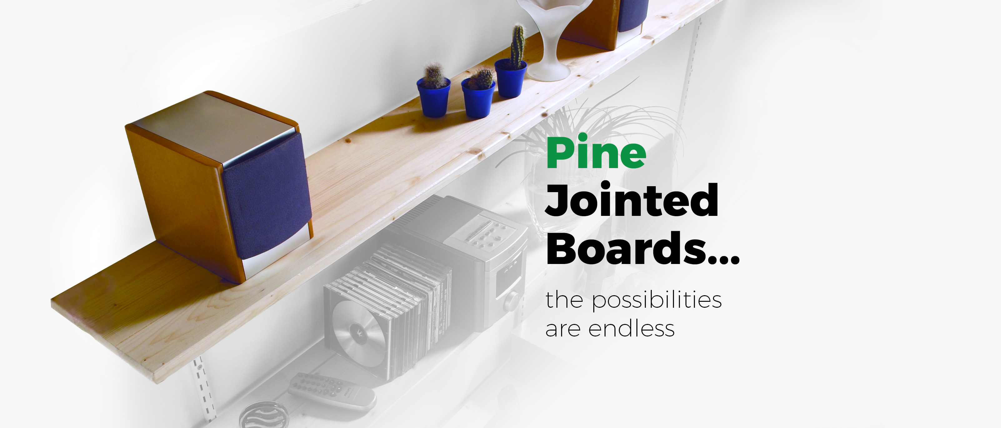 Pine jointed boards... the endless possibilities from JAS Timber