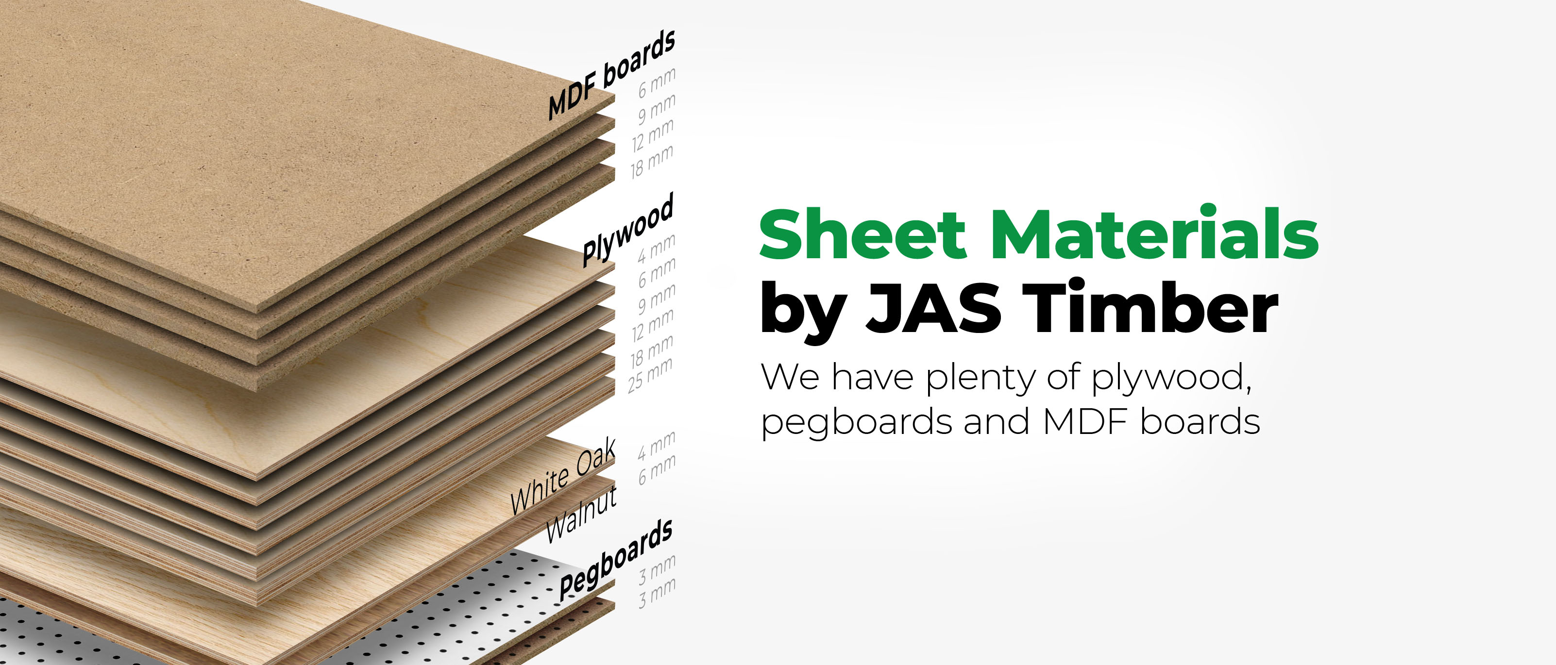 Sheet Materials by JAS Timber