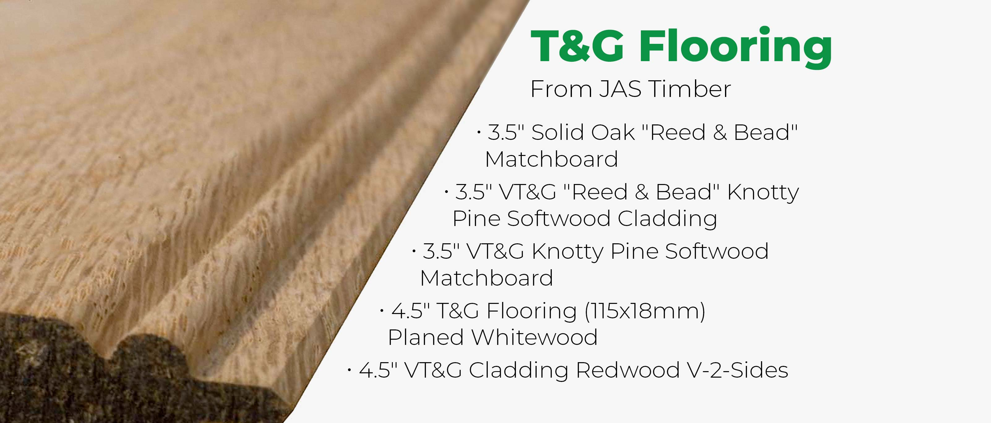 T&G Flooring From Jas Timber