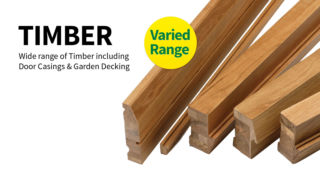 09 Timber Range - Door Casing - Garden Decking