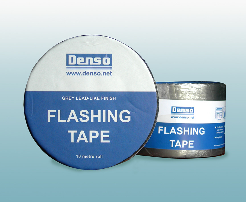 Denso Flashband Tape - Aluminised Grey Flashing Tape