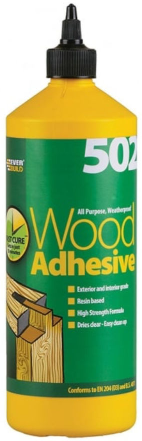 Everbuild 502 Wood Adhesive 1L