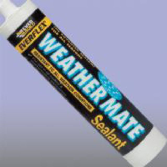 EVERBUILD WeatherMate Sealant 300ml BLACK