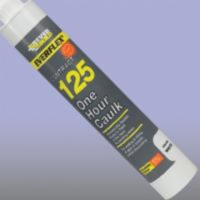 ACRYLIC SEALANT: WHITE EVERBUILD 125 One Hour Caulk