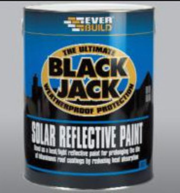 Solar Reflective Paint - Everbuild 907 - 5 Litre