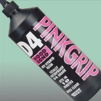 Pinkgrip Hybrid Resin D4 Wood Bond Adhesive 1L. Everbuild Pink Grip