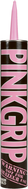 Pinkgrip Panel Adhesive * Pink Grip Solvent-based * - Tube 350mL Everbuild