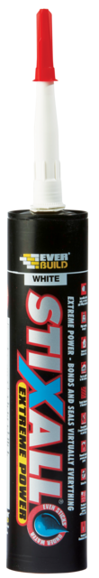 Stixall White Panel Adhesive - Everbuild C3 290mL Tube