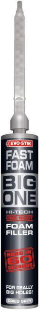 FAST FOAM BIG ONE : Hard in 60 seconds : 250mL - Evo-Stik
