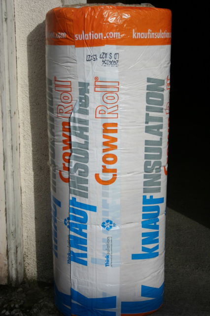 "4"" INSULATION : GLASSFIBRE : 13.94Sq.M. (Combi) - CROWN"
