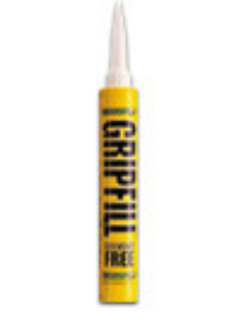 PANEL ADHESIVE Yellow Tube GRIPFILL * Solvent Free * 350mL