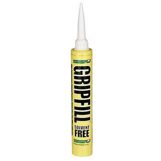 Gripfill Panel Adhesive Yellow Tube * Solvent Free * 350mL