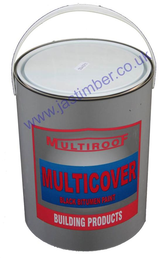 Multicover Black Bitumen Paint 5L
