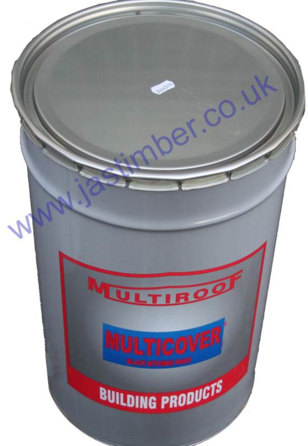 Multicover Black Bitumen Paint 25L