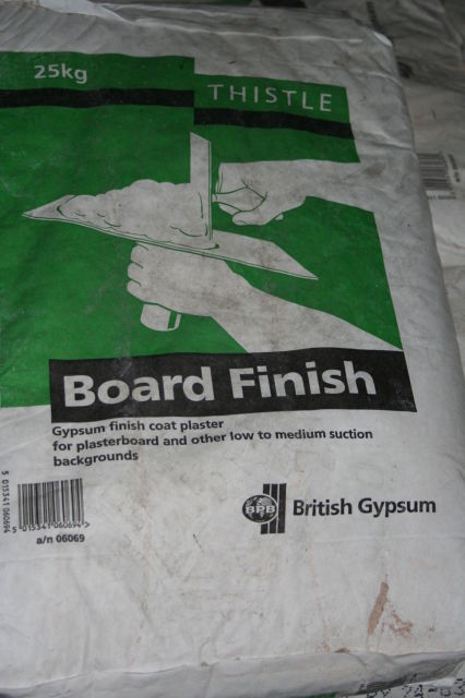 BOARD FINISH Plaster / THISTLE : 25Kg