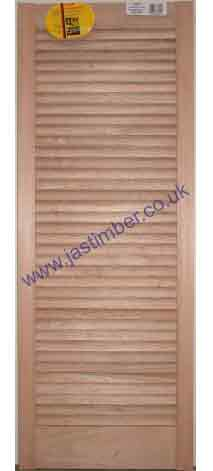 Chindwell Red Hardwood Louvre Doors ... & Clearance Stock Hardwood LOUVRE DOORS