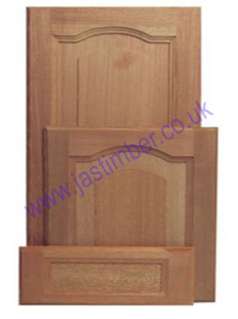 Cabinet Door [Hardwood] - Solid Ply Panel - JA