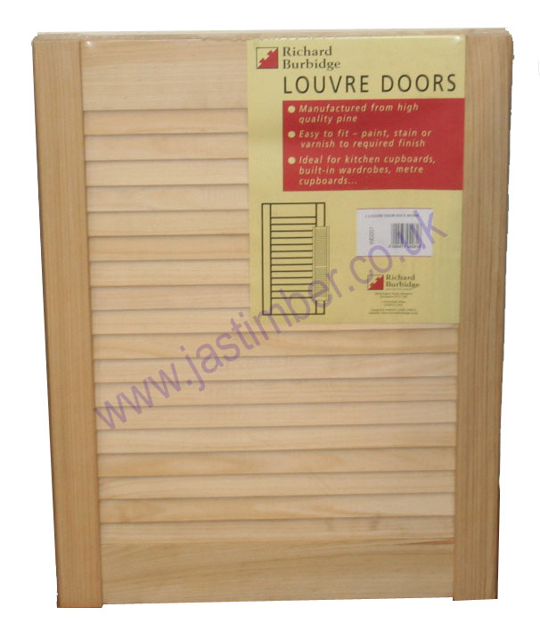 "Richard Burbidge 48x12"" Pine Louvre Door"