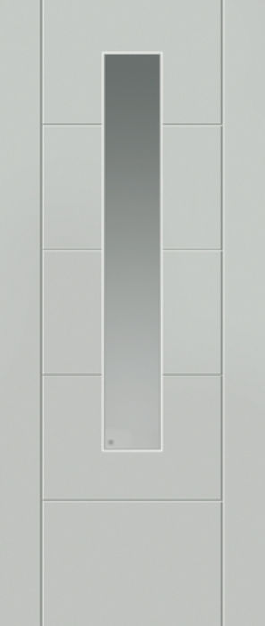 Tigris Glazed White External Extreme Door
