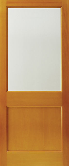 2XG Unglazed Door: 1-light *Unglazed* Hemlock 44mm External Doors - JB Kind Doors