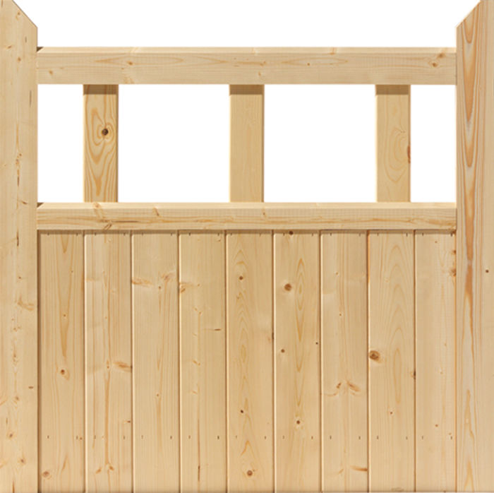 Softwood Boarded Gates