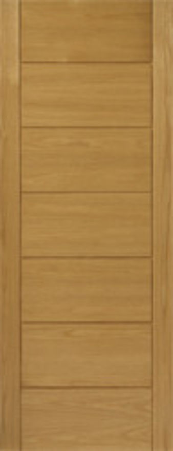 Cognac Oak External Door