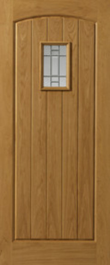 Mosel Glazed Oak External Door