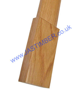 Photography of OAK PLINTH BLOCKS - Boxed 8 pieces for 2 doors - JBK