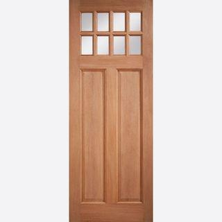 Lpd Chigwell Glazed Hardwood External Door