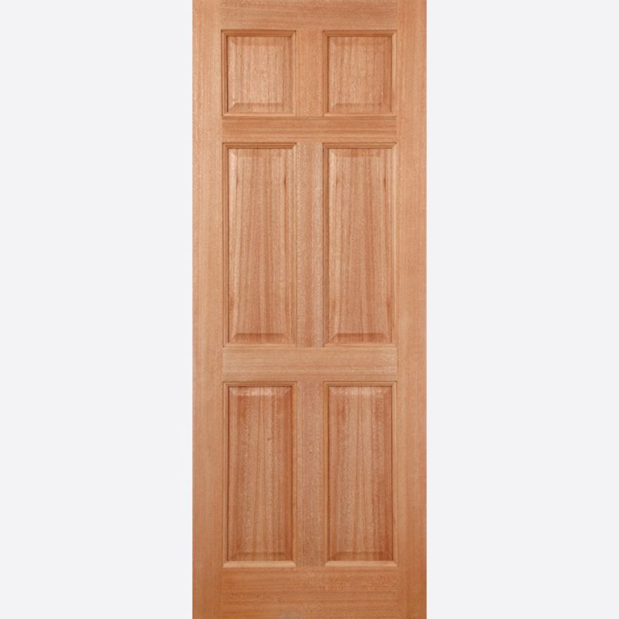 Colonial 6P Hardwood External Door