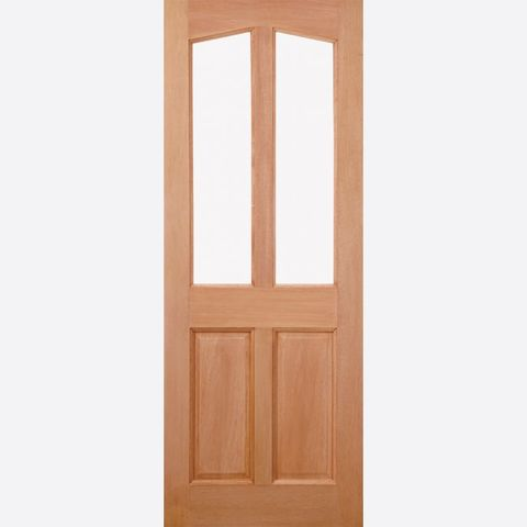 Richmond Unglazed CLEARANCE Door: 2-light *Unglazed* [Hardwood] M&T 44mm External Door