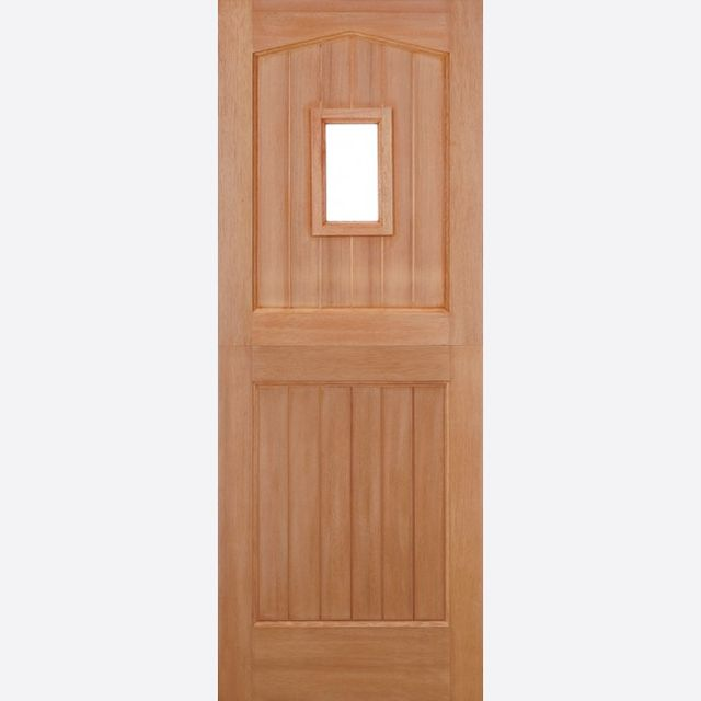 "Stable 1L Unglazed Door: 1-light *Unglazed* [Hardwood] M&T 1.75"" External Door - LPD Essentials Hardwood External Doors"