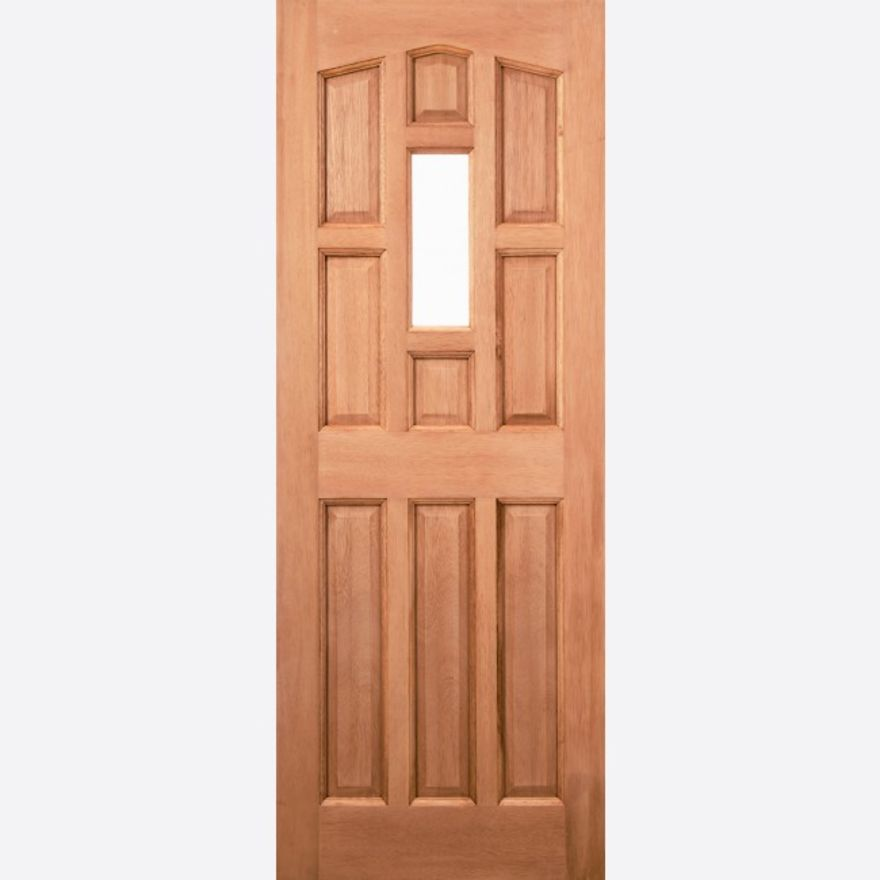 York 1L Unglazed Hardwood Ext. Door - LPD