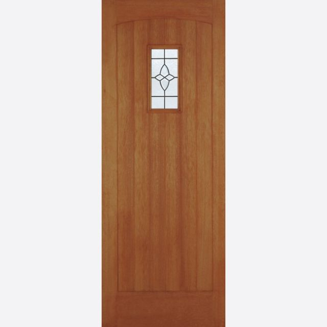 "Cottage Glazed Door: 1-light *Lead Double Glazed* [Hardwood] M&T 1.75"" External Door - LPD Hardwood External Doors"