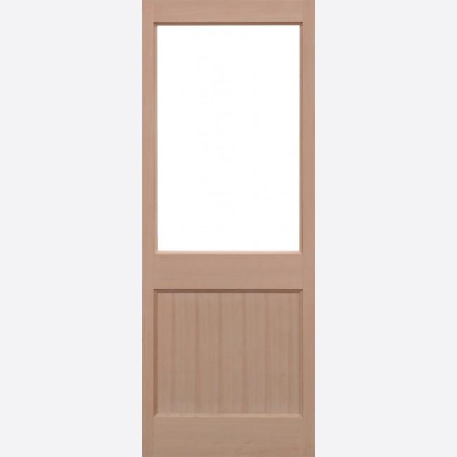 2XG Unglazed Door 1-light *Unglazed* Hemlock Dowel 44mm External Door - LPD Trade Doors & LPD 2XG Unglazed Hemlock External Door