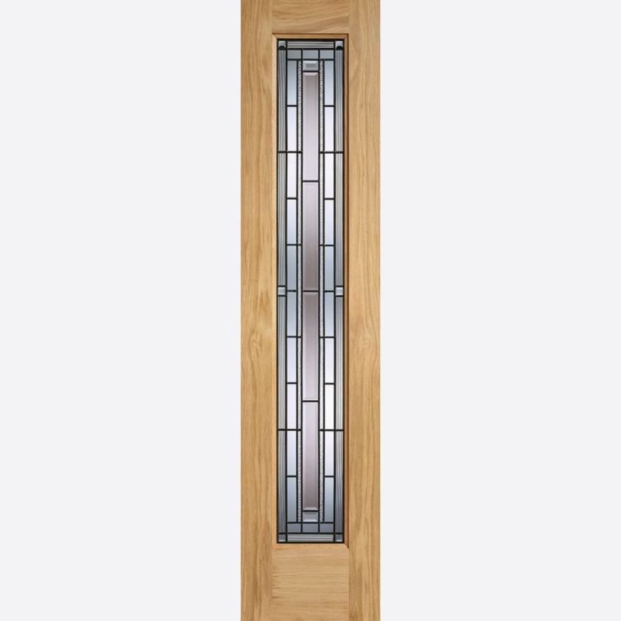 Granada Glazed Oak External Sidelight