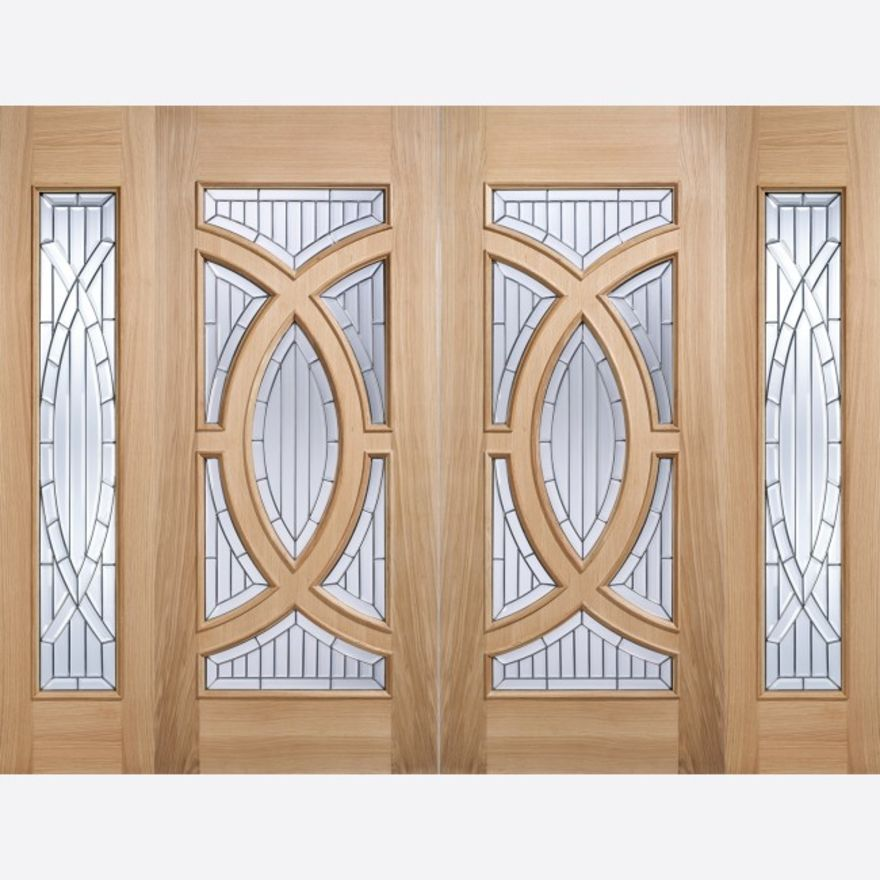 Majestic Glazed Oak External Door