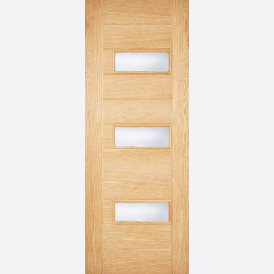 Portomaso Double Glazed Oak Part-L External Door