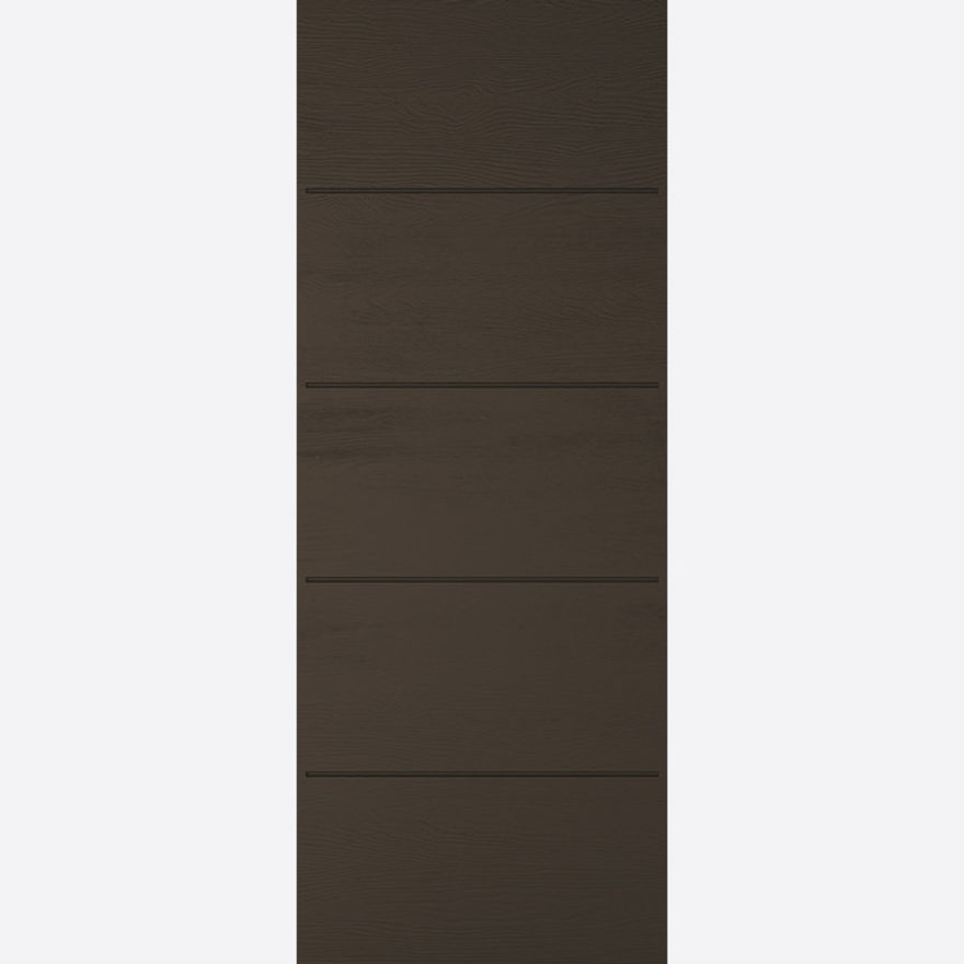 Santandor Smoked Oak Embossed External Door