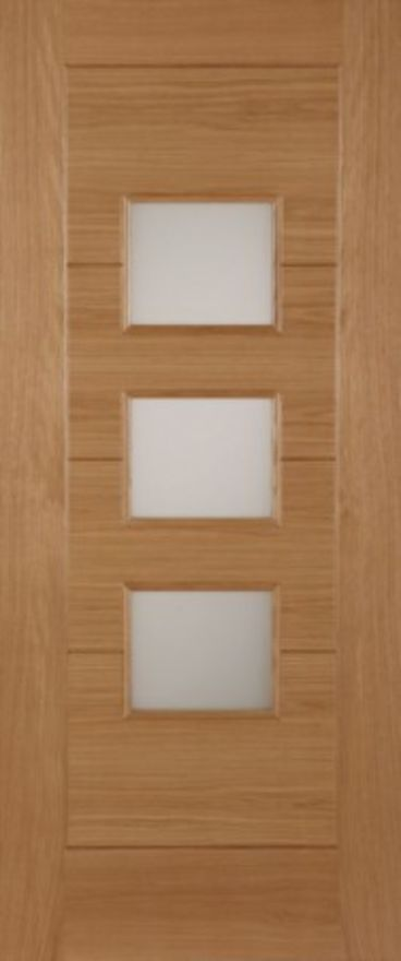 Monza Glazed Oak External Door