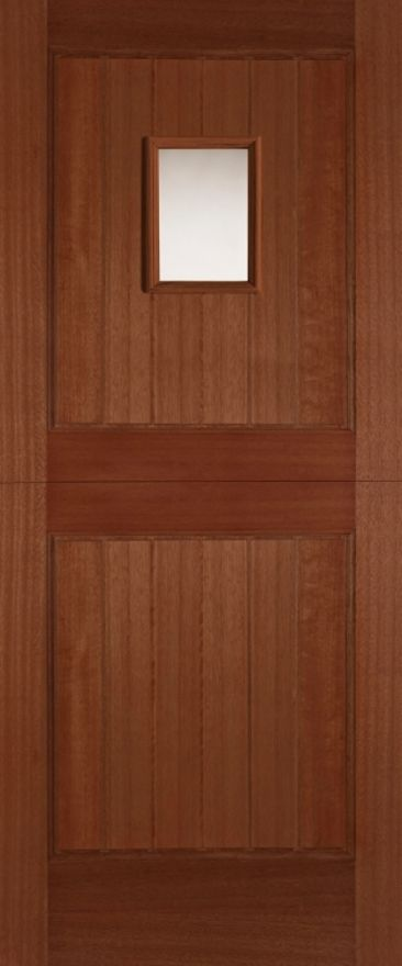 Stable 1-light Unglazed Hardwood External Doors