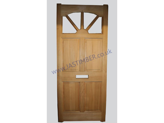 "CAROLINA DOOR: 78x33"" Hemlock sM&T 44mm External Door - STP Clearance Door"