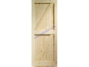 FL&B External Pine Gate - XL Doors